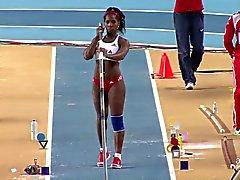 Yarisley Silva : Sexy Ass Olympics Cuba Saut à la perche - Ameman