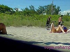 La mia moglie Tatiana Ottenere della barretta scopata Al nuda Spiaggia di da una bestia nera !