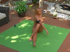 Jenny Scordamaglia - Nude Yoga #1