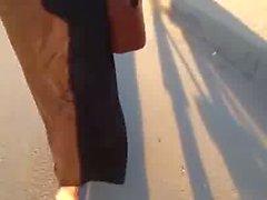 Hijab Abaya Candid: 008