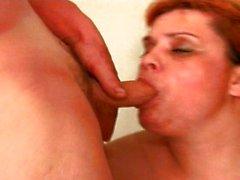 Slutty mature mom mouth fuck