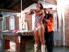 Transsexual bondage torture gets you hot