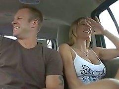 Mon favori mère Fucked dans une Van