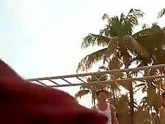 Divertido balcón con .