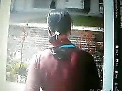 Indisch meisje Desi is weg te lopen en wordt gefilmd om haar kont te tonen