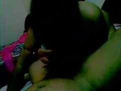 Desi indian couple having sex on a special place