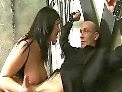Josefina Tiago e de de Alexis a Prata a 3some fetish