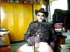 Leather cowboy