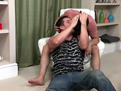 Big Dick Homosexuell Analsex mit Cumshot