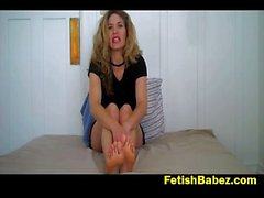 Foot fetish Palooza di Abby