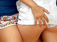 Double penetration de la fille