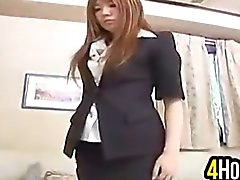 Cutie Asian Nel Collant