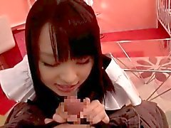 Nozomi Aiuchi - Cosplay - Maid - Fellatio