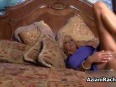 Busty blonde babe recebe tesão transando com ela