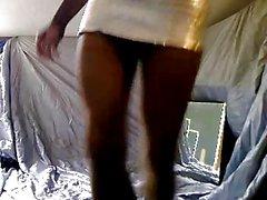 Chocolate babe on webcam