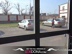 Lexidona - Bebé caliente Lexi Dona y Gina Gerson aspirar el martillo