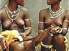 Реального Эбони Африканского подростков !