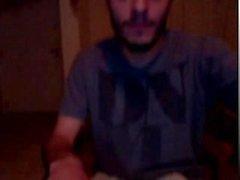 Гидромассажная парня усмотрению на веб-камеру