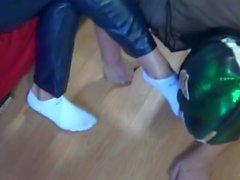 Weiße Socken Anbetung