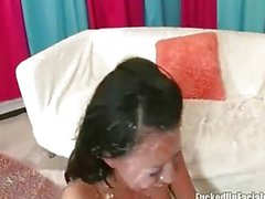 Di Eva Angelina totalmente creamed tra cazzi monster