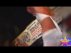 Nu Bichano molhado Concurso Key West Spring Break Pt1
