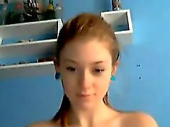 Pretty traviesa del webcam girl