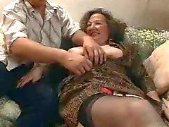 Бабуля трахаться - шесть