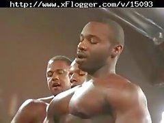 Interracial Gay Bukkake Session