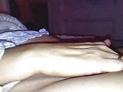 Starker netter Finger Orgasmus