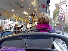 Immobilier Public Bus Fellation Lena Loch