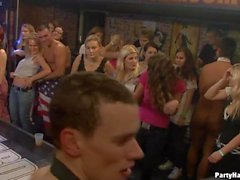 Uncensored and wild orgy party with men and chicks