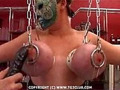 BDSM.puncture núcleo duro de la chest.punishment