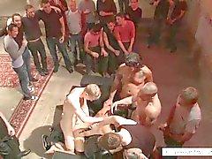 Bdsm orgy with Hayden Richards