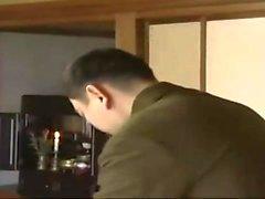 Üniforma horoz sürme Japon
