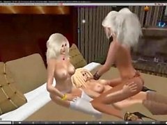 Di Second Life Girls Just Volete Have Fun