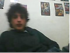varie ragazzi retti piedi sulla webcam in