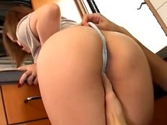 Asian masseuse with big boobs gives head
