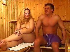 Chubby в бане