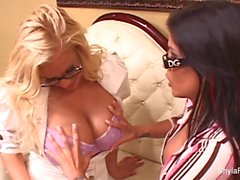 Shyla Stylez gets anally fucked in a threesome