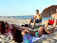 Plage Bait and Switch Avec Gina Valentina et Kobi Brian