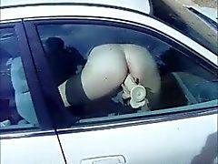 Janela de carro vibrador