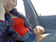 Tranny in a car