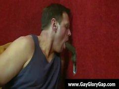 Gay жесткое порно Gloryhole а геи Handjobs 29