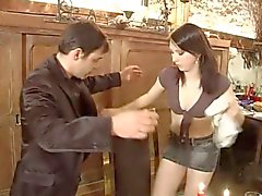 French Waitress 'Mistake...F70