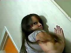 Geile Fat BBW GF toont haar kont en het geven van een natte pijpbeurt