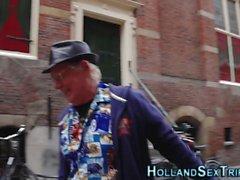 Buceta comido prostituta holandês