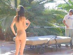 Rosa leksaksbil och Swimmingpool Anpassat Rengöring