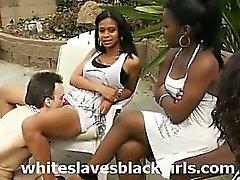 Esclavas Blanco lamedura vagina negro