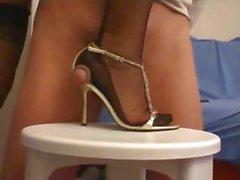 Sandals Cumshot