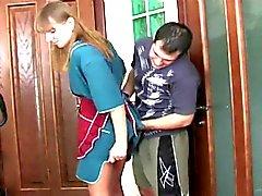 Rus stepmoms ve erkek anal seks